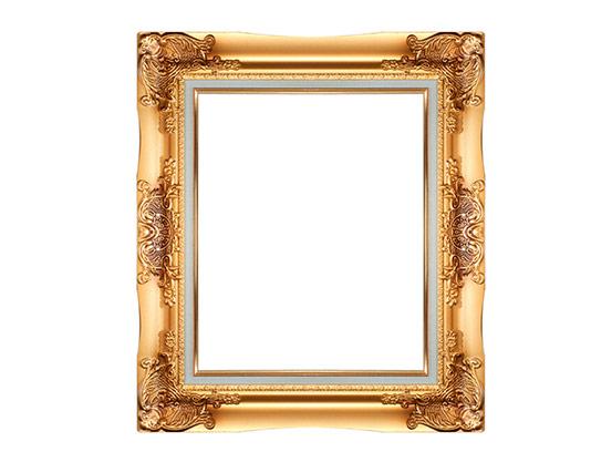 قاب و فریم عکس طلایی