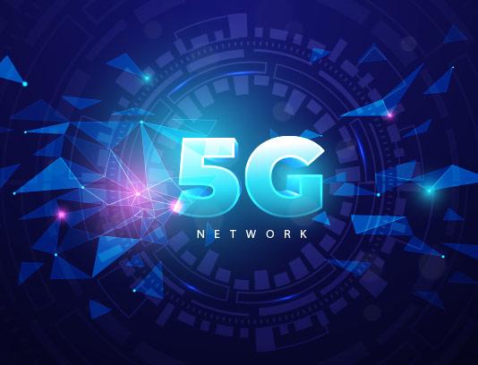 وکتور لوگوی ۵G سه بعدی
