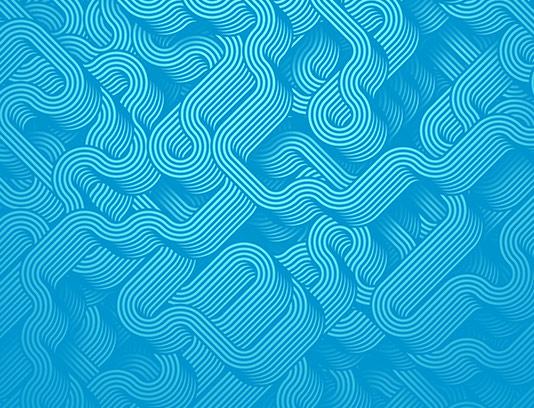 پس زمینه موج دار آبی