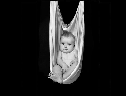 عکس سیاه سفید کودک