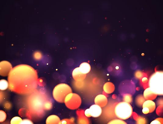 وکتور پس زمینه نور های رنگی
