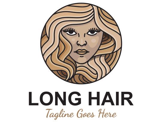 وکتور لوگوی مو با کیفیت