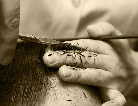 عکس کوتاه کردن مو