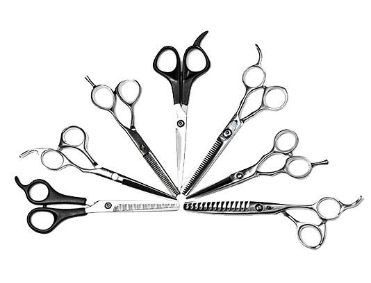 عکس انواع قیچی آرایشگری