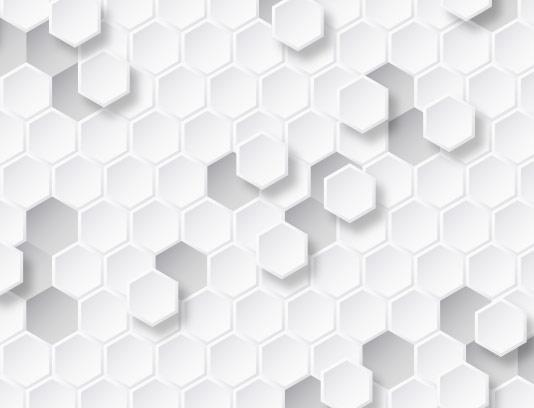 پس زمینه شش ضلعی سه بعدی