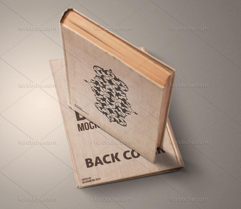 طرح جلد کتاب با نقوش اسلیمی