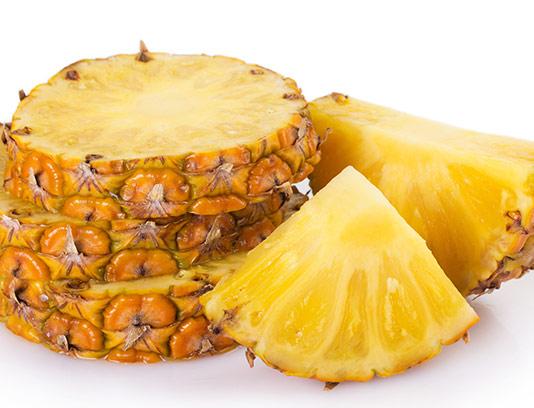 عکس آناناس برش خورده