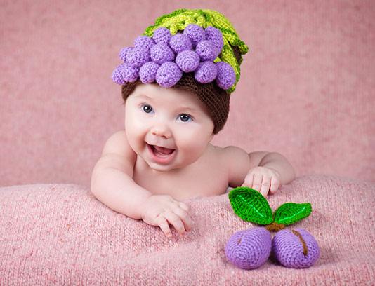 عکس کودک خندان با کیفیت