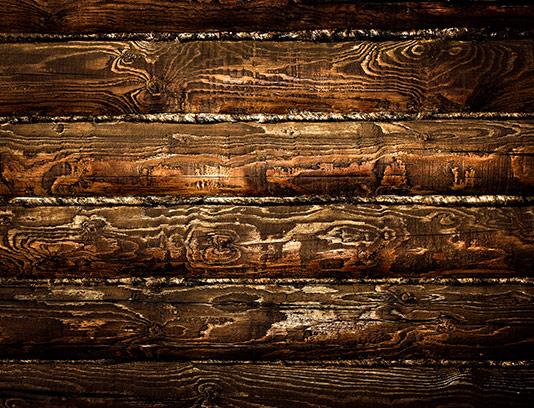 پس زمینه چوبی قهوه ای سوخته