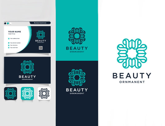 وکتور لوگو محصولات آرایشی و بهداشتی