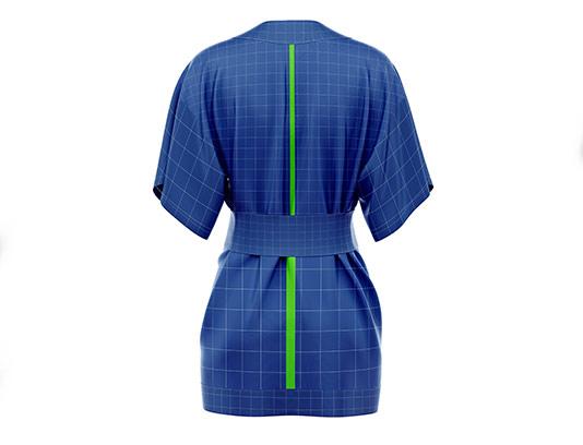 موکاپ لباس کیمونو با کیفیت