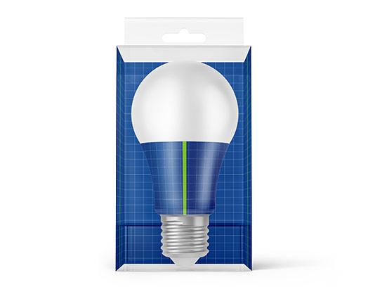 موکاپ لامپ LED با کیفیت