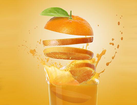 عکس آبمیوه پرتقال با کیفیت