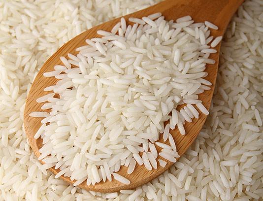 عکس برنج سفید با کیفیت