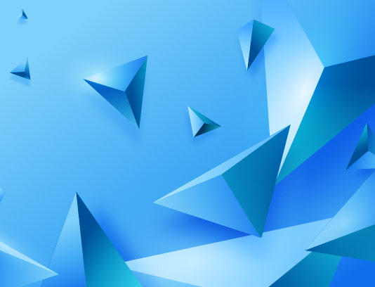 بکگراند سه بعدی آبی