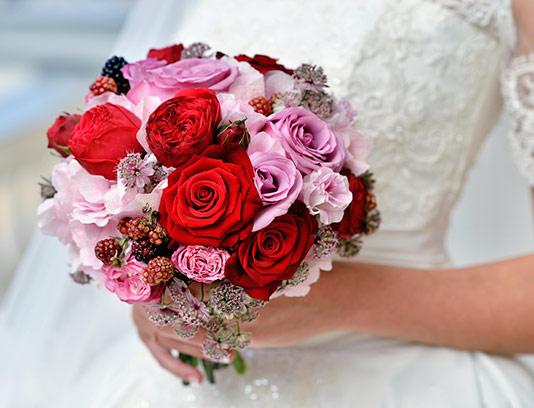 عکس دسته گل عروس با کیفیت