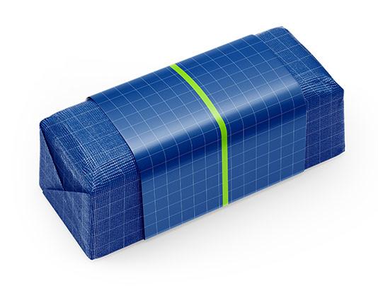 موکاپ بسته بندی کاغذی شکلات