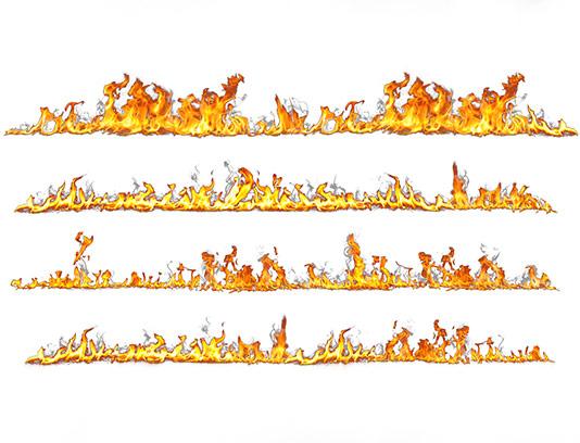عکس شعله آتش با کیفیت