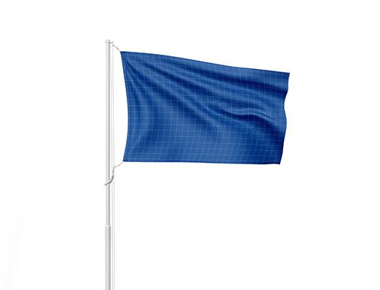 موکاپ پرچم برافراشته