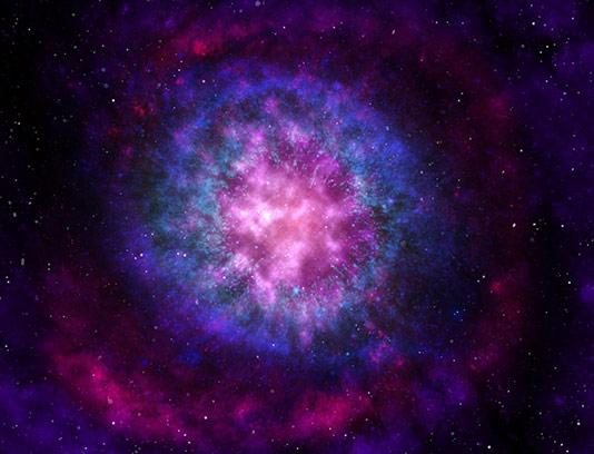 عکس کهکشان با کیفیت عالی
