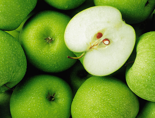 عکس سیب سبز با کیفیت