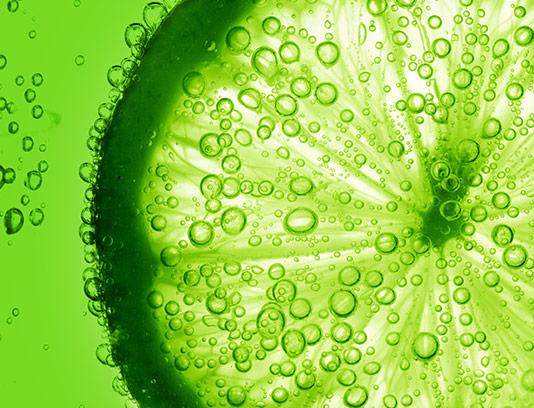 پس زمینه لیمو ترش سبز