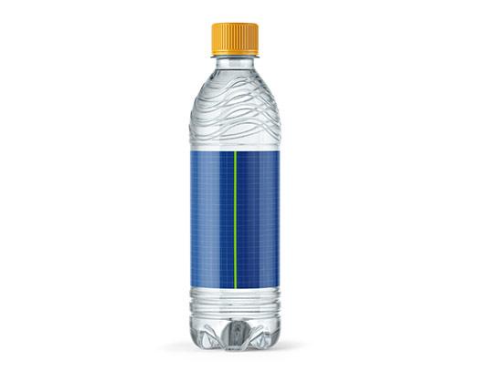 موکاپ لیبل آب معدنی