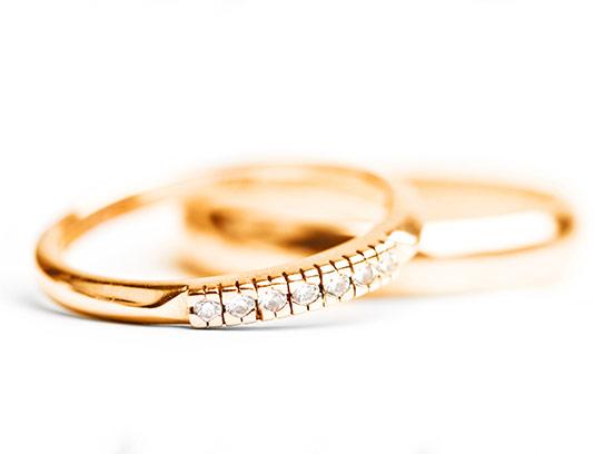 عکس حلقه عروس با کیفیت