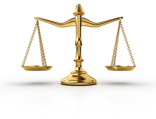 عکس ترازوی قانون با کیفیت
