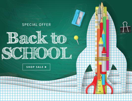 وکتور بازگشایی مدارس با کیفیت