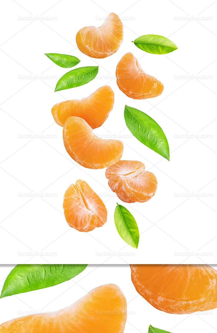 عکس نارنگی پوست کنده