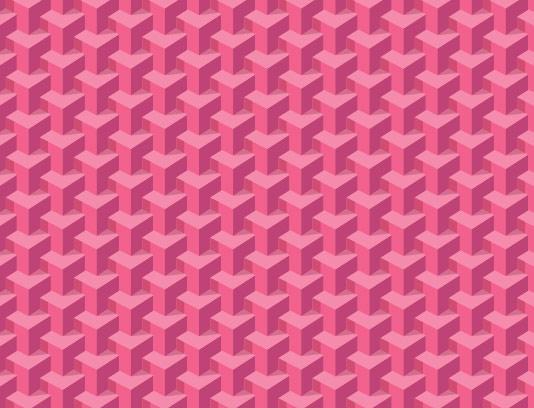 پس زمینه سه بعدی صورتی