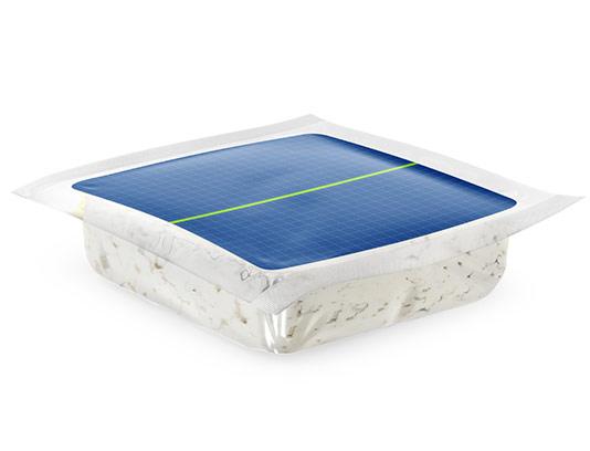 موکاپ بسته بندی مکعبی پنیر