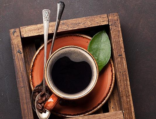 عکس با کیفیت فنجان قهوه