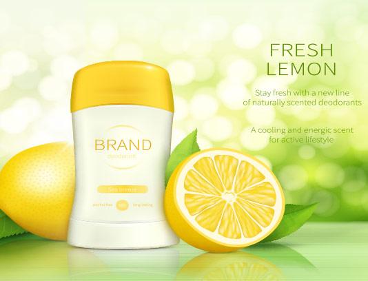 محصولات آرایشی با رایحه لیمو