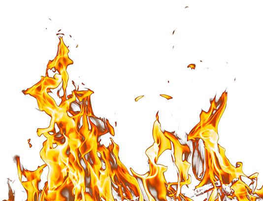 عکس شعله های آتش با کیفیت