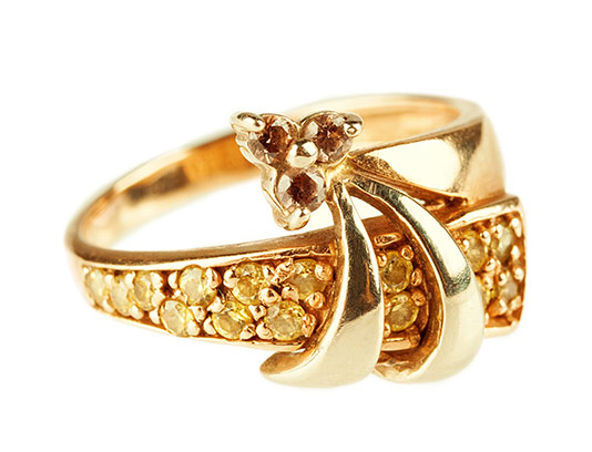 عکس انگشتر طلا زنانه
