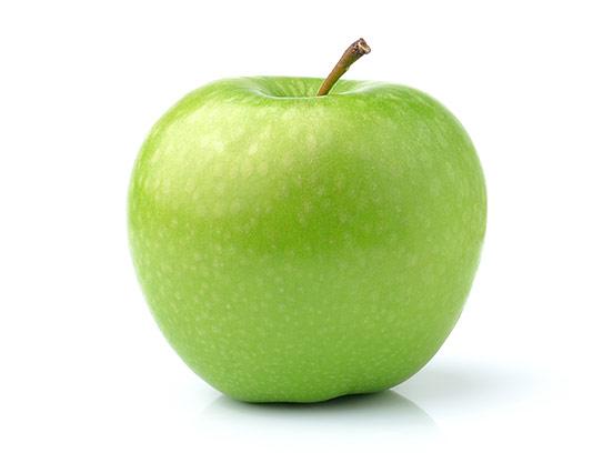 عکس سیب سبز با کیفیت بالا