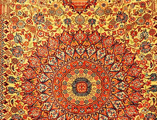 عکس فرش ایرانی قدیمی