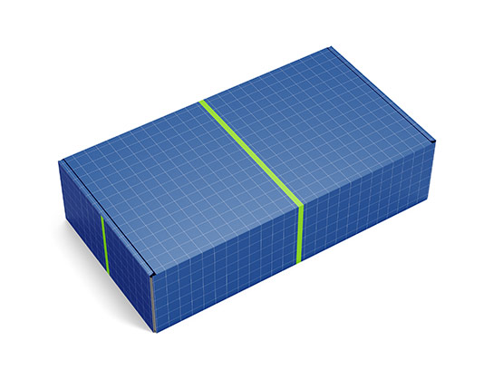 موکاپ بسته بندی جعبه مستطیل