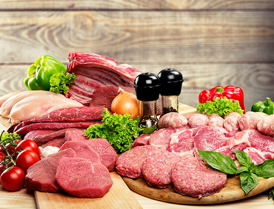 عکس گوشت و پروتئین