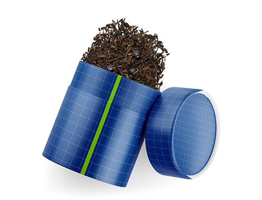 موکاپ بسته بندی چای سیاه
