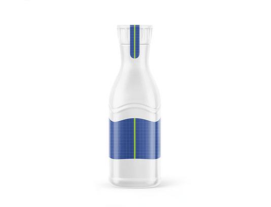 موکاپ بطری آبمیوه خلاقانه