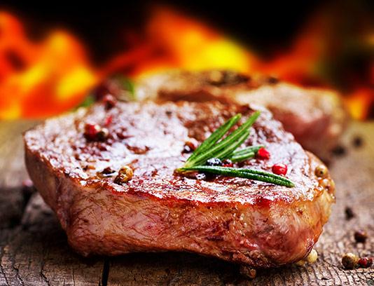 عکس استیک گوشت خلاقانه