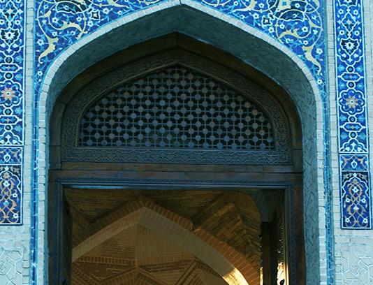عکس ورودی مسجد با کیفیت