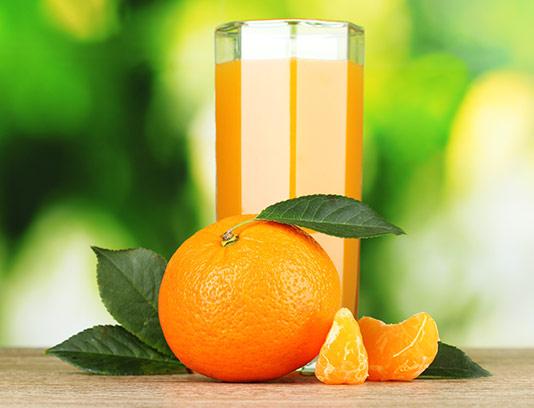 عکس با کیفیت آبمیوه پرتقال