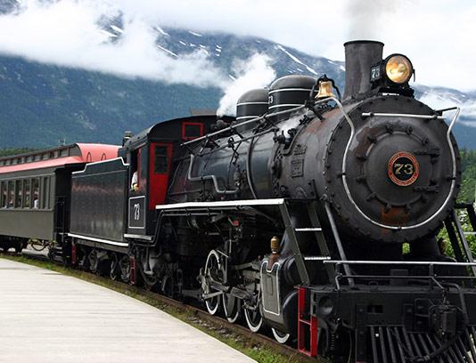 عکس قطار مسافربری