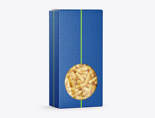موکاپ بسته بندی پاستا خلاقانه