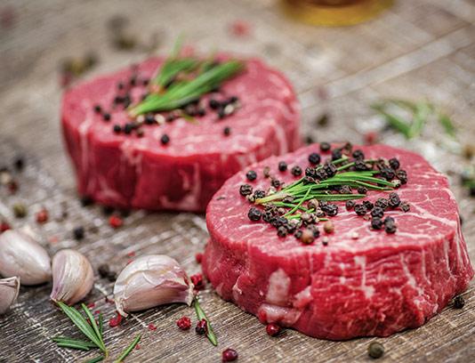 عکس گوشت قرمز با فلفل سیاه