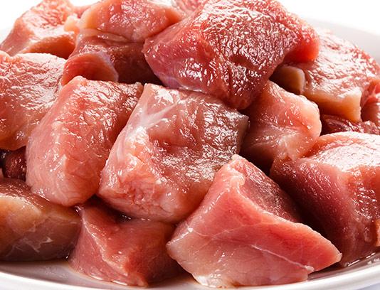 عکس گوشت قرمز تکه شده